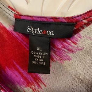 Style & Co Tops - Style & Co. layered tank top